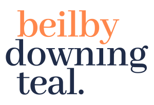 Beilby Downing Teal Logo